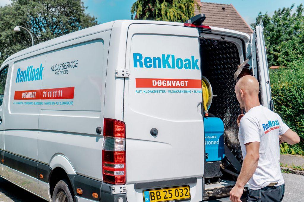 RenKloak - vi kører til store dele af Sjælland!