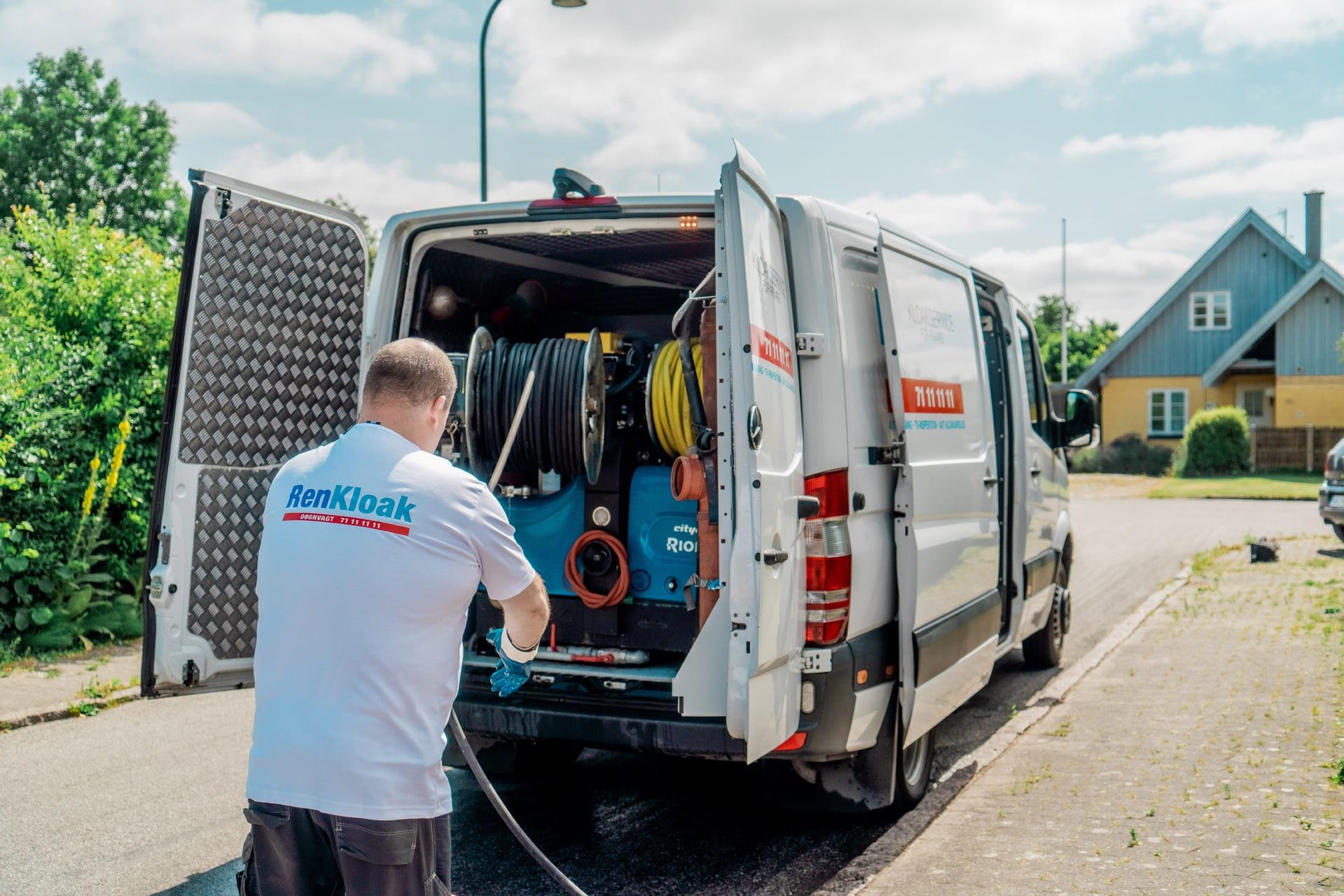 Vi kører til hele Sjælland med vores professionelle udstyr
